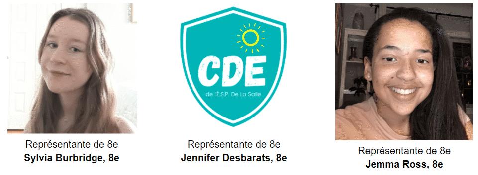 Membres élus du CDE 20-21