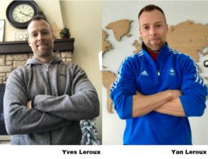 Yan Leroux et Yves Leroux